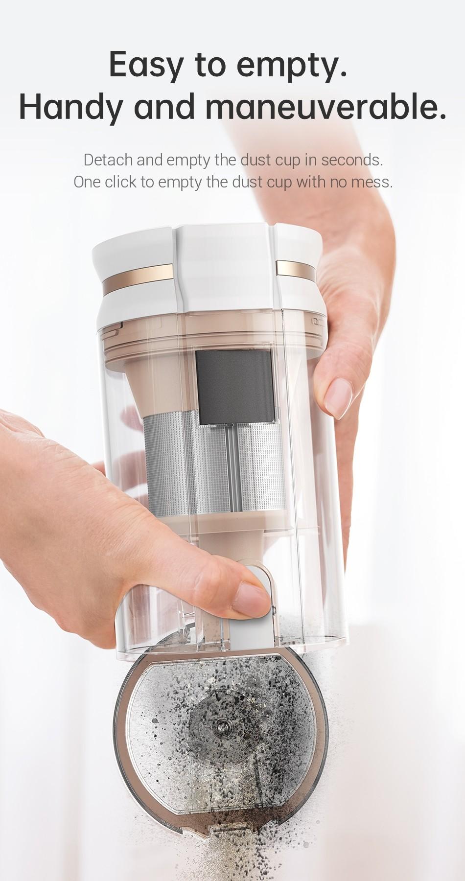Dreame P10 Pro Kabelloser Handstaubsauger EU Version - Für Haus 22kPa Haushaltsgeräte LED-Anzeige Staubsammler Boden Teppich Aspirator