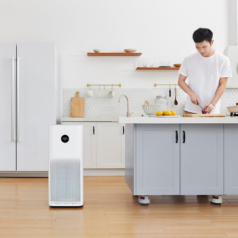 Xiaomi Mi Oczyszczacz powietrza Pro H EU Version - Smart OLED sterylizator formaldehyd Cleaner Czyszczenie z H13 Filtr App + AI Kontroli