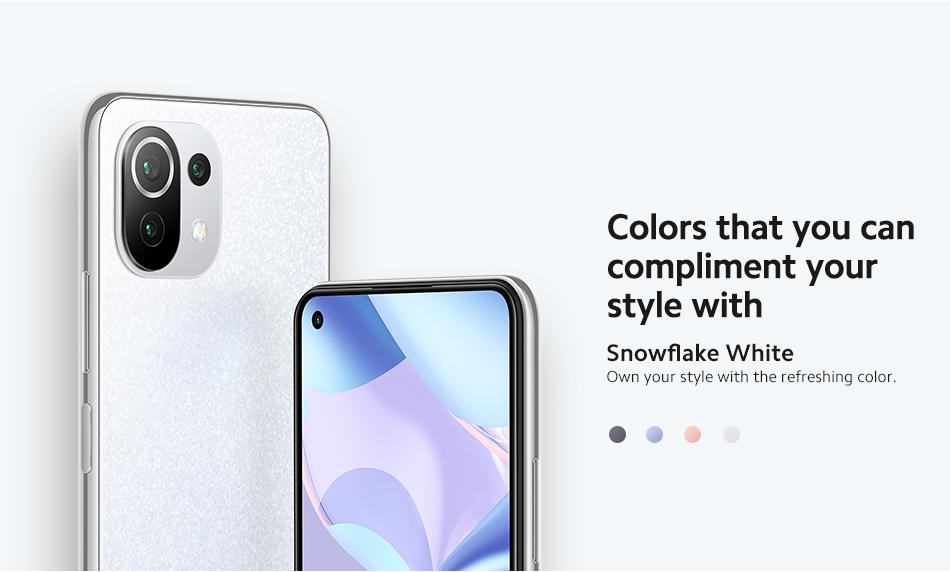 Xiaomi Mi 11 Lite 5G NE Smartphone 5G Netzwerk 8GB+128GB - EU Version Snapdragon 778G Octa-Core 64MP Dreifach-Rückkamera 90Hz AMOLED-Bildschirm