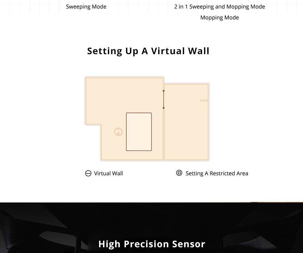 Xiaomi Mijia Stytj02yM 2-em-1 Vácuo de Robô de vácuo